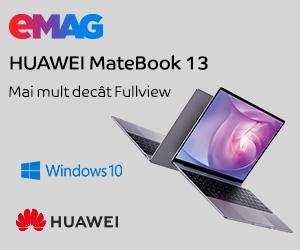 Campanie de reduceri Huawei MateBook 13