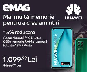 Campanie de reduceri Campanie Huawei P40 Lite