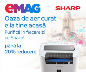 Campanie de reduceri Campanie AC purificatoare Sharp