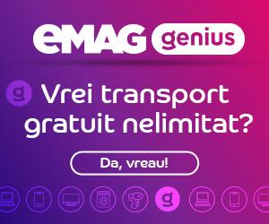 Campanie de reduceri Lansare eMAG Genius