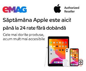 Campanie de reduceri Campanie Saptamana Apple