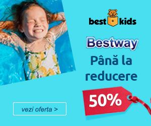 Campanie de reduceri Profita de reducerile de pana la 50% la BestWay!