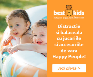 Campanie de reduceri Vara si balaceala cu noile oferte Happy People!