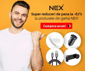 Campanie de reduceri Reduceri de pana la -67% la gama NEX! Ai Comision de 10% la conversiile cu produse NEX
