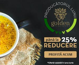 Campanie de reduceri Producătorul lunii Golden Flavours - Reduceri de până la 25% | Viața Verde Viu
