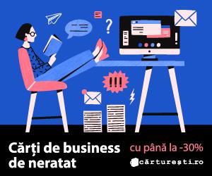Campanie de reduceri CARTI DE BUSINESS DE NERATAT