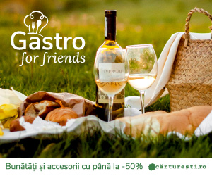 Campanie de reduceri GASTRO FOR FRIENDS - O SELECÈšIE CU PÃ'NÄ' LA -50%