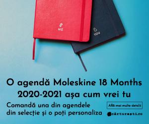 Campanie de reduceri O AGENDĂ MOLESKINE 18 MONTHS 2020-2021 AȘA CUM VREI TU