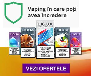 Campanie de reduceri LIQUA - Vaping in care poti avea incredere
