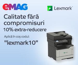 Campanie de reduceri Imprimante Lexmark