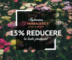 Campanie de reduceri Saptamana Herbagetica -15%