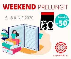 Campanie de reduceri Weekend literar de neratat alături de RAO