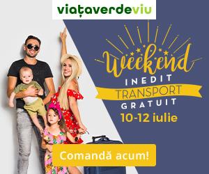 Campanie de reduceri Weekend inedit cu TRANSPORT GRATUIT în magazinul ViaÈ›a Verde Viu | 10-12 Iulie 2020