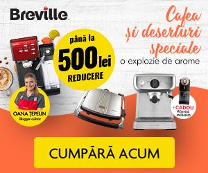 Campanie de reduceri Cafea si deserturi speciale!
