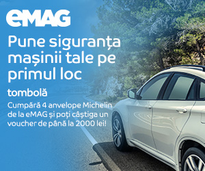 Campanie de reduceri Tombola interna Michelin, 10- 31.07.2020