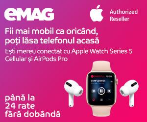 Campanie de reduceri Campanie Apple Watch Airpods, 06-19 iulie