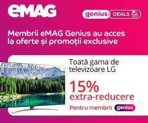 Campanie de reduceri Campanie eMAG Genius - Weekly Deals