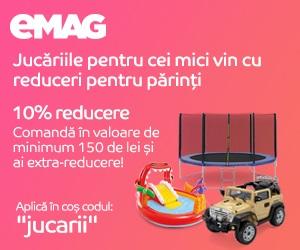 Campanie de reduceri Campanie Toys 17 - 19 iulie