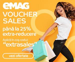 Campanie de reduceri Campanie Voucher Sales, 28-30 iulie