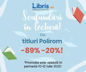 Campanie de reduceri POLIROM la -89% -20%!