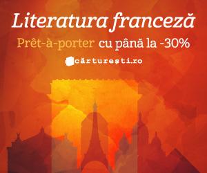 Campanie de reduceri LITERATURA FRANCEZĂ, PRÊT-À-PORTER CU -30%
