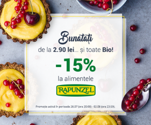 Campanie de reduceri PromoÈ›ii Rapunzel 15%