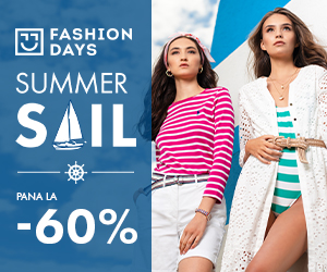 Campanie de reduceri Summer Sail - pana la -60% la articolele pentru femei