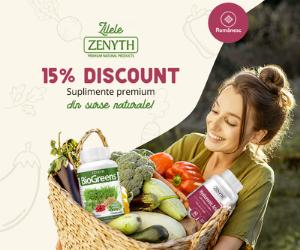 Campanie de reduceri Zilele Zenyth 15%