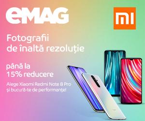 Campanie de reduceri Campanie Xiaomi Redmi Note 8 Pro, 17- 31.08.2020