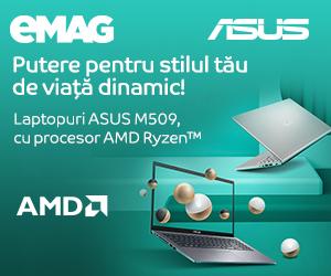 Campanie de reduceri Laptopuri ASUS M509 cu procesor AMD Ryzen