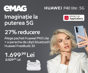 Campanie de reduceri Campanie Huawei P40 Lite 5G