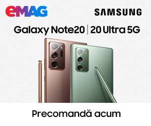 Campanie de reduceri Campanie precomanda Samsung Galaxy Note20