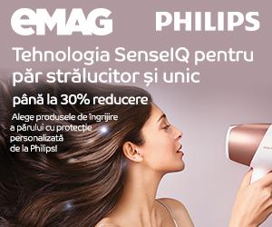 Campanie de reduceri Philips hair care pana la 30% reducere