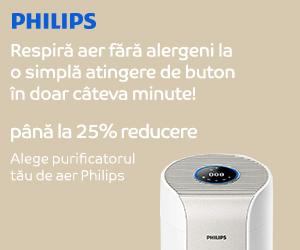 Campanie de reduceri Campanie Philips purificatoare