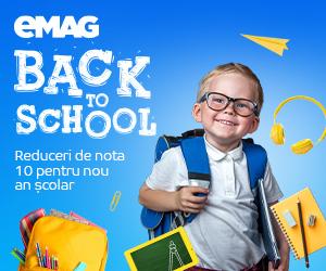 Campanie de reduceri Campanie Back to school 17 august - 20 septembrie