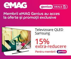 Campanie de reduceri eMAG GENIUS - Weekly Offers, 18-24 august