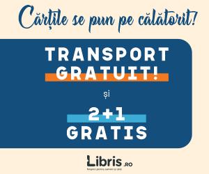Campanie de reduceri Transport GRATUIT indiferent de valoarea comenzii È™i 2+1 GRATUIT la peste 10.000 de titluri.