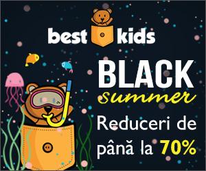 Campanie de reduceri Black Summer! Reduceri de pana la 80%