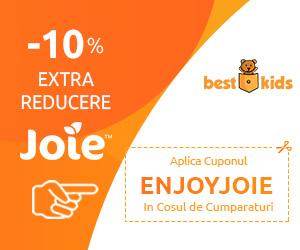 Campanie de reduceri 10% EXTRA reducere la orice produs Joie