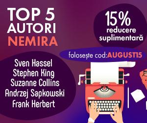 Campanie de reduceri Top 5 autori Nemira