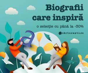 Campanie de reduceri BIOGRAFII CARE INSPIRÄ' - O SELECÈšIE DE TITLURI CU PÃ'NÄ' LA -30%