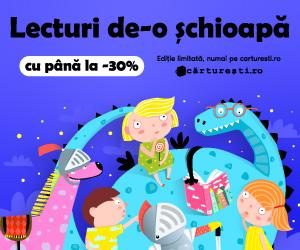 Campanie de reduceri LECTURI DE-O ȘCHIOAPĂ, CU PÂNĂ LA -30%