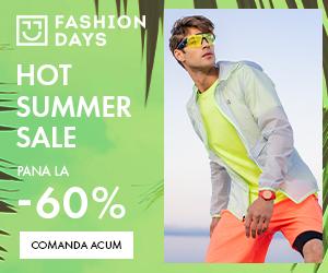 Campanie de reduceri Hot Summer Sale - pana la -60% la articolele pentru barbati (refresh)