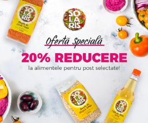 Campanie de reduceri Ofertă Specială Solaris -20%