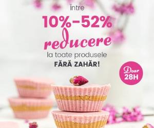 Campanie de reduceri PromoÈ›ii la Produsele FÄ'RÄ' ZAHÄ'R
