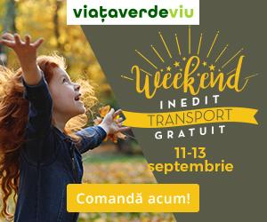 Campanie de reduceri Weekend cu TRANSPORT GRATUIT in magazinul VVV   11-13 Septembrie 2020