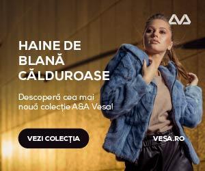 Campanie de reduceri Noua colectie de haine de blana, veste de blana si geci de piele A&A Vesa