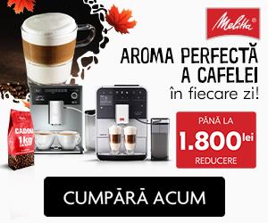 Campanie de reduceri Aroma perfecta a cafelei in fiecare zi!