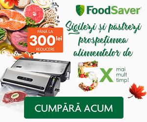 Campanie de reduceri Sigilezi si pastrezi prospetimea alimentelor de pana la 5 ori mai mult timp!