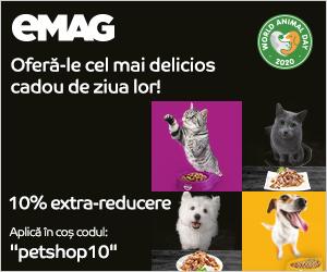 Campanie de reduceri Campania World Animal Day, 17 septembrie - 15 octombrie